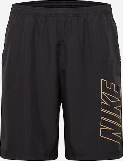 NIKE Sportovní kalhoty - zlatá / černá, Produkt