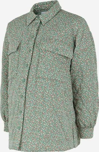 MAMALICIOUS Jacke in hellgrün / rot / weiß, Produktansicht