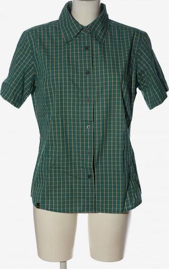 SALEWA Kurzarmhemd in XXL in blau / pastellgelb / grün, Produktansicht