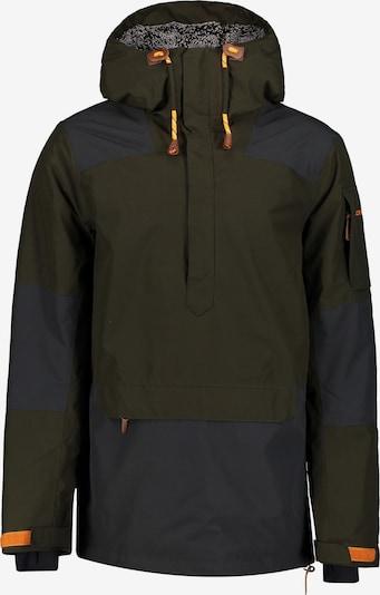 ICEPEAK Jacke in nachtblau / dunkelbraun / orange, Produktansicht