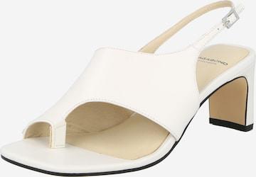 VAGABOND SHOEMAKERS Sandaal 'LUISA', värv valge