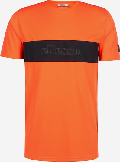 ELLESSE T-Shirt ' Eliseo ' in orange / schwarz, Produktansicht