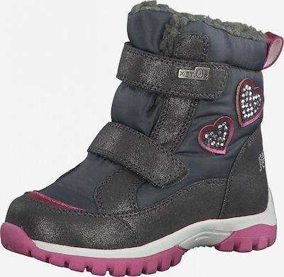 s.Oliver Junior Schuh in grau / dunkelpink, Produktansicht