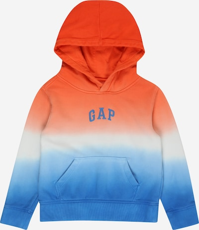 GAP Sweatshirt in blau / orange / weiß, Produktansicht