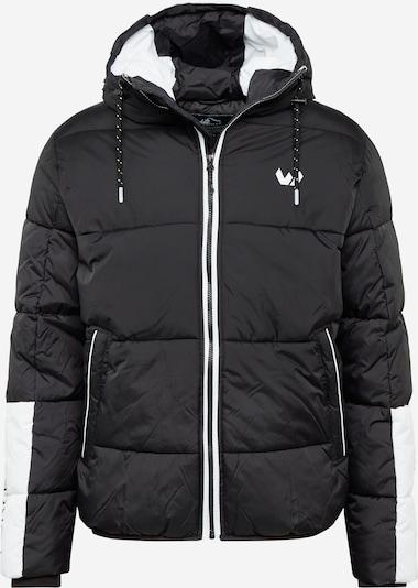 Whistler Outdoor jakna 'Rafe' u crna melange / bijela, Pregled proizvoda