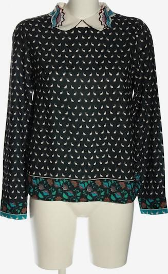 Derhy Langarm-Bluse in M in türkis / schwarz / weiß, Produktansicht