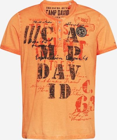 CAMP DAVID Paita värissä oranssi / tummanoranssi / musta, Tuotenäkymä