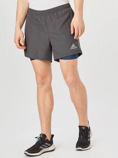 ADIDAS PERFORMANCE Sportovní kalhoty 'Own the Run' - modrá / šedá, Model/ka