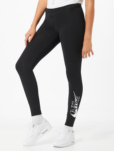 fekete Nike Sportswear Leggings, Modell nézet