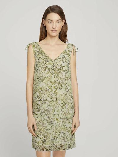 TOM TAILOR Kleid in grün, Modelansicht