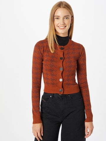 GLAMOROUS Knit Cardigan in Red