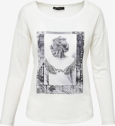 Decay Langarmshirt in weiß, Produktansicht