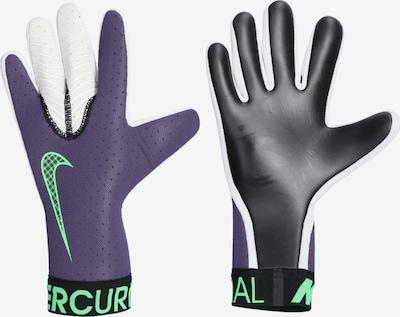 NIKE Handschuhe in apfel / dunkellila / schwarz, Produktansicht