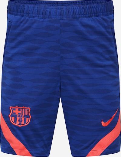 NIKE Pantalón deportivo 'FC Barcelona Strike' en azul / rosa neón, Vista del producto