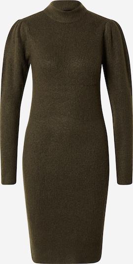 PIECES Robes en maille 'Ana' en vert foncé, Vue avec produit