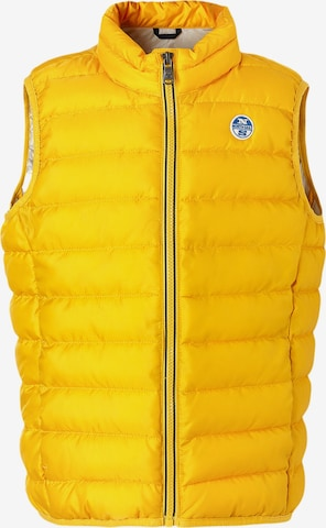 North Sails Vest 'Skye' in Yellow