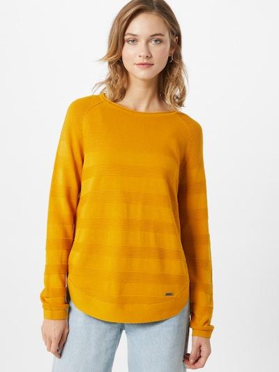 Q/S designed by Pullover in gelb, Modelansicht