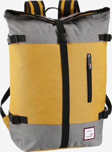 KangaROOS Rucksack in gelb / grau, Produktansicht
