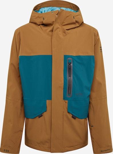 Laisvalaikio striukė 'DELTA' iš BILLABONG , spalva - pastelinė mėlyna / ruda, Prekių apžvalga