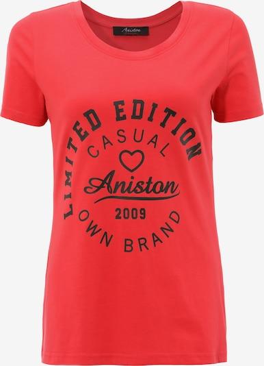 Aniston CASUAL T-Shirt in rot / schwarz, Produktansicht