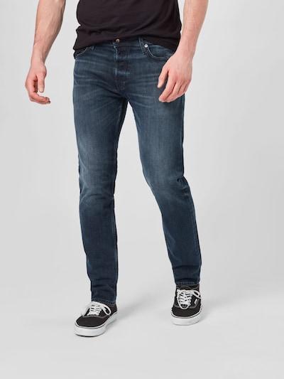 JACK & JONES Jeans 'Mike' in dunkelblau, Modelansicht