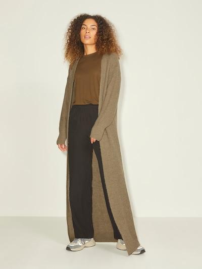 JJXX Manteau en tricot en brocart, Vue avec modèle