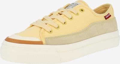 LEVI'S Sneaker 'Square' in hellgelb / puder / weiß, Produktansicht