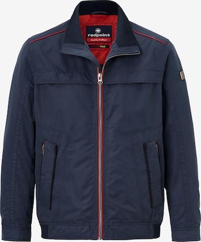REDPOINT Jacke 'Antony' in nachtblau / rot / schwarz, Produktansicht