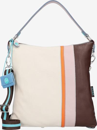 Gabs Tasche in beige / braun / orange / rosa, Produktansicht