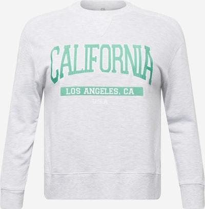 Bluză de molton 'CALIFORNIA' River Island Petite pe gri / verde, Vizualizare produs