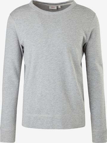 Bluză de molton de la s.Oliver pe gri