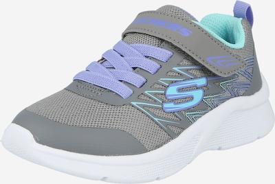SKECHERS Baskets 'MICROSPEC - BOLD DELIGHT' en bleu clair / gris basalte, Vue avec produit