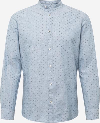 JACK & JONES Hemd 'Band' in nachtblau / hellblau / weiß, Produktansicht