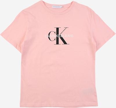 Calvin Klein Jeans Тениска в бледорозово / черно / бяло, Преглед на продукта