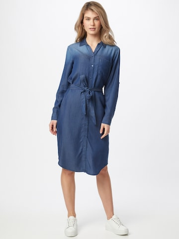 TOM TAILOR Shirt Dress in Blue