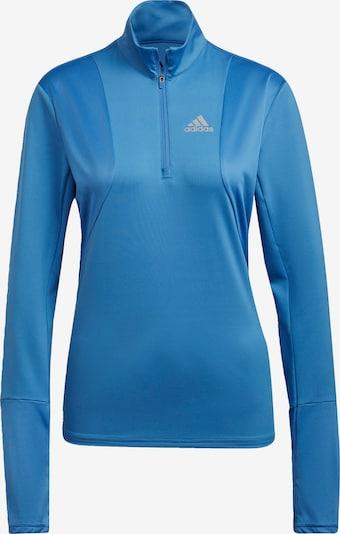 ADIDAS PERFORMANCE Funktionsshirt 'Own The Run' in blau / weiß, Produktansicht