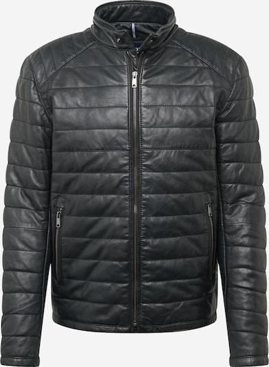 JOOP! Jeans Tussenjas 'Benix' in de kleur Zwart gemêleerd, Productweergave