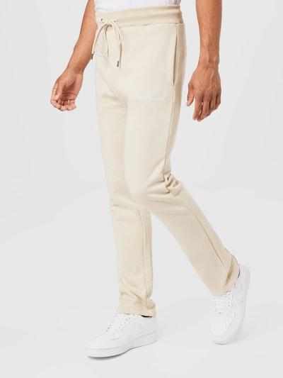 Pegador Pantalon en beige clair, Vue avec modèle