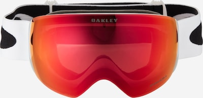 OAKLEY Sportbril 'Flight Deck' in de kleur Rood / Wit, Productweergave