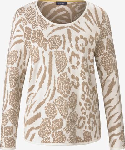 Basler Pullover in beige / offwhite, Produktansicht