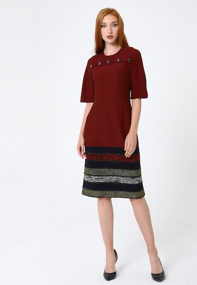 Madam-T Kleid 'Noella' in rot, Modelansicht