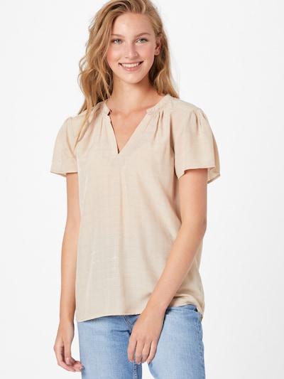 SAINT TROPEZ Bluza 'Haritta'   svetlo bež barva, Prikaz modela