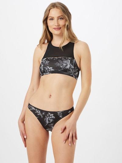 fekete / fehér BRUNOTTI Sport bikini 'Bimala': Elölnézet