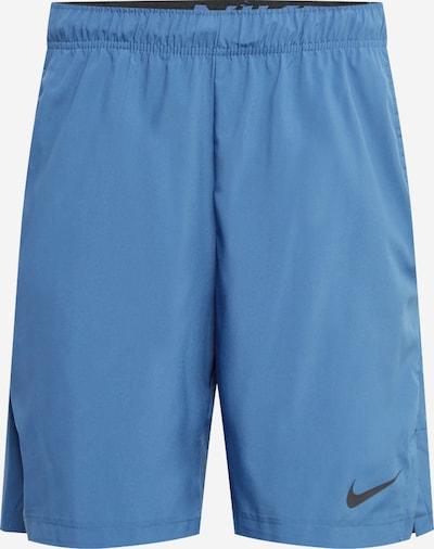 NIKE Sportbroek 'Flex' in de kleur Smoky blue / Zwart, Productweergave