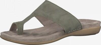 JANA Pantolette in dunkelgrün, Produktansicht