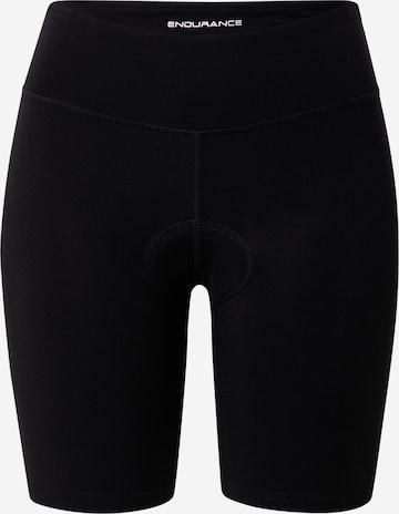 ENDURANCE Workout Pants 'HULDA BIKE' in Black