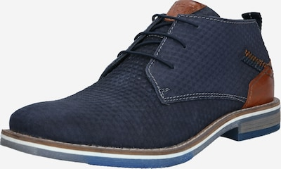 bugatti Lace-up shoe 'Kiano' in dark blue / cognac, Item view