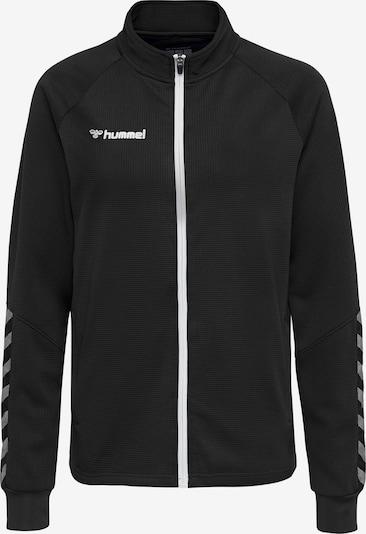 Hummel Sportief sweatvest in de kleur Zwart, Productweergave