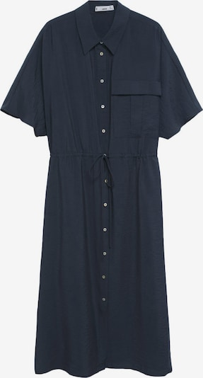 Rochie tip bluză 'mari' MANGO pe bleumarin, Vizualizare produs
