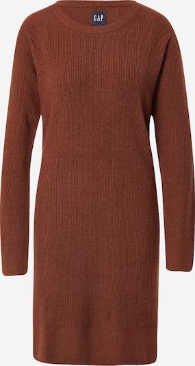 GAP Gebreide jurk in de kleur Roestbruin, Productweergave